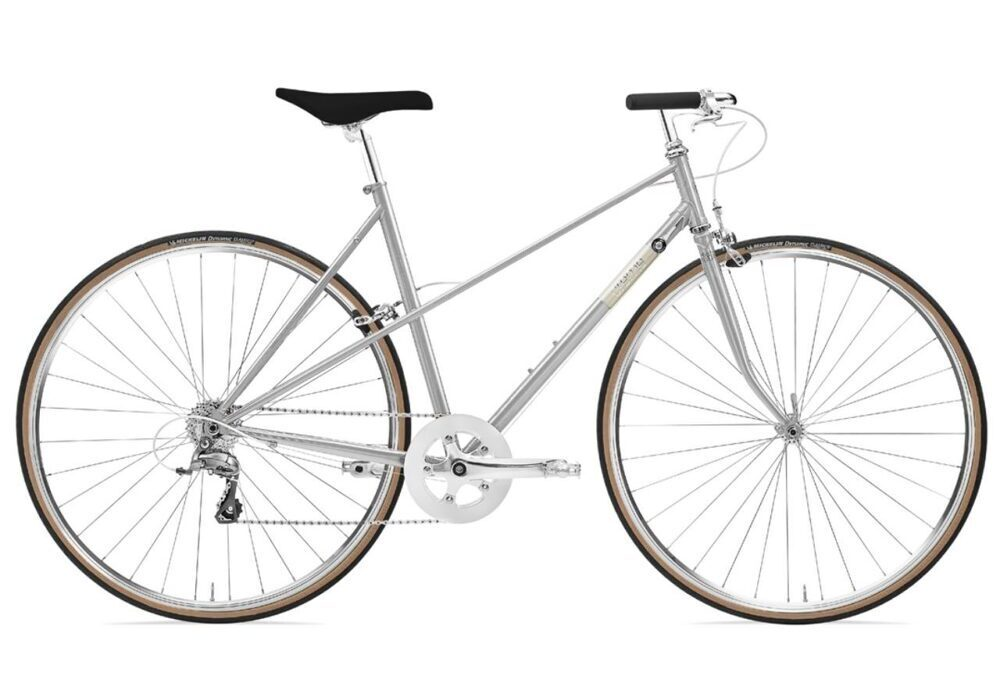 Creme Echo Mixte Uno 8 Speed silver