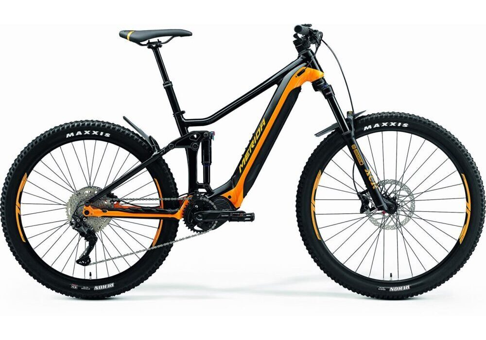 Merida eONE-FORTY 400 black-orange