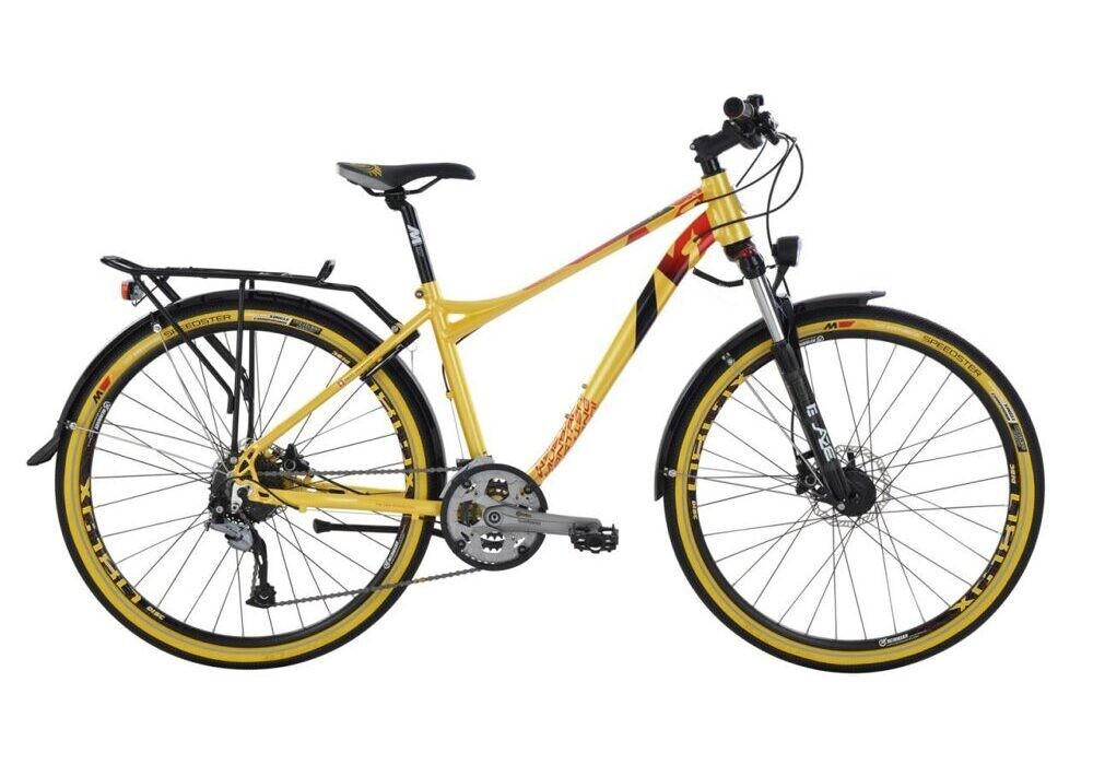 Mustang Trailchecker 27.5 Lady yellow-black 13